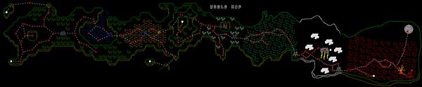 Stick ranger world map (better quality)