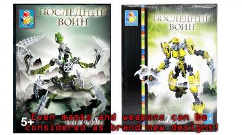 Best Bionicle knock off ever?!