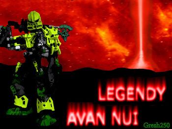 Legendy Avam Nui Plakietka