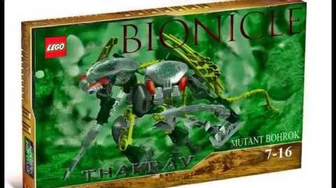 My LDD creation Bionicle Bohrok Thakrav