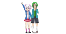 Aria and Clef (Human Forms)
