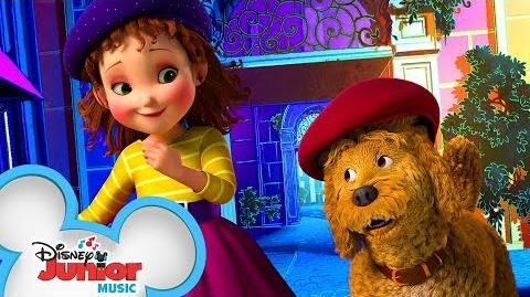 Frenchy Mon Amour Music Video Fancy Nancy Disney Junior