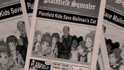 Plainfield Squealer, Plainfield Kids Save Mailman's Cat