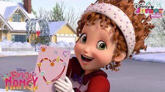 Valentine's Day Card Music Video Fancy Nancy Disney Junior