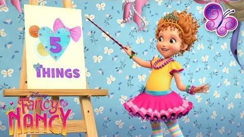 Five Things About Nancy Fancy Nancy Disney Junior