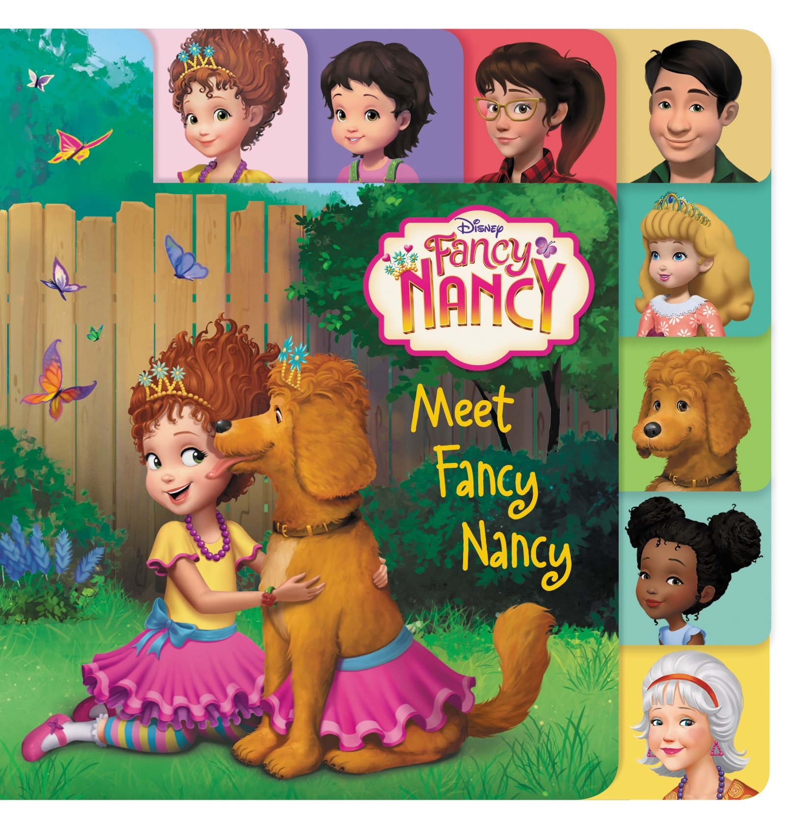 It's just a graphic of Revered Fancy Nancy Characters