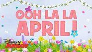 Ooo La La April! Fancy Nancy Disney Junior