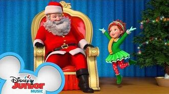 Deck the Halls with Fancy Nancy! 🎄 Disney Junior Holiday Party on Tour Disney Junior