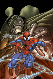 Spider man doom cover