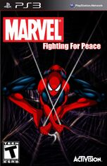 Marvel- Fighting For Peace (Spider-Man Cover)