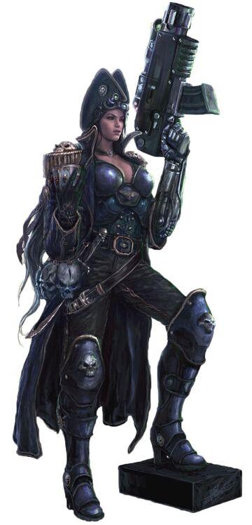 Female Rogue Trader