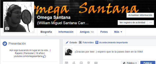 Agregame a facebook omega