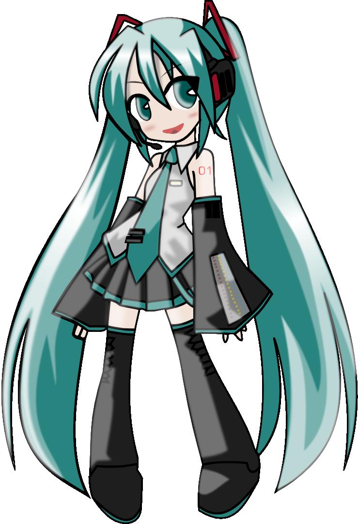 Vocaloid Chibi Hatsune Miku By Kopakapat D58vhlp