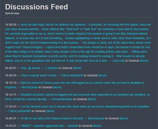 w:c:dev:DiscussionsFeed