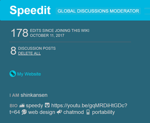 w:c:dev:Discussions Delete All