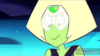 Peridot Leaves a Stain on Steven's Chest