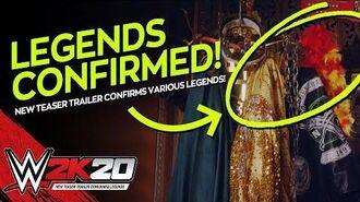 WWE 2K20 Trailer Teaser Breakdown New Legends Confirmed!