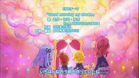(HD)Aikatsu!-Ending 5-Good morning my dream