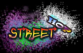 Street hop logo paint