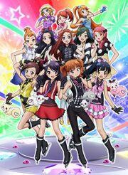 Pretty Rhythm Dear My Future Poster