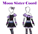 Moon Sister Coord