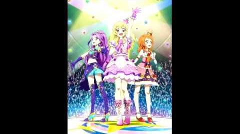 Let's Aikatsu! Ichigo, Mizuki and Akari vers