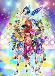 Pretty Rhythm Rainbow Live Poster