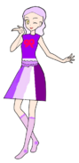 Chou Fujita Purple Melody Coord