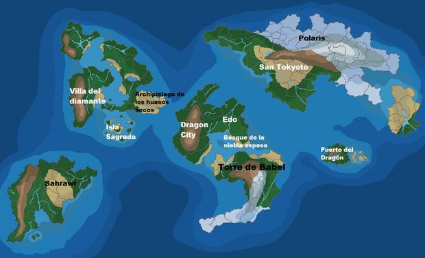 Mapa Fisico MundoPKMN