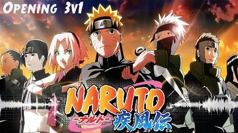 Naruto Shippuden Opening 3v1 HD
