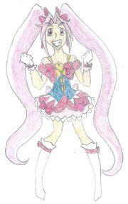 Merci Pretty Cure- Cure Canvas