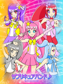 Precure Band Poster 2