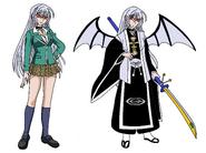 Moka Akashiya aka Cure Izanami
