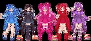 Elemental Pretty Cure v3