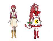 Shirayuki aka Cure Löwe