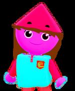 Eva's Colorforms City - Eva