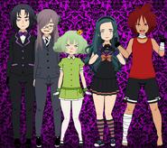 Villains - Saturn, Tartarus, Shangri-La, Lemuria and Muspell