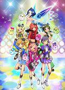 All female character in this series, otoha beru and wakana become a villain member