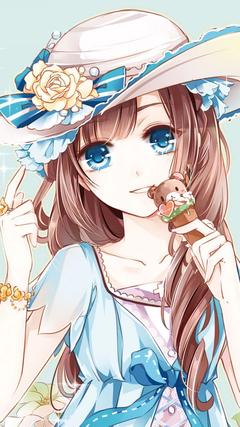 Cute Ice Cream girl