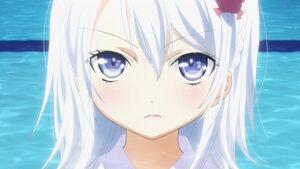 Blue eyes denpa onna to seishun otoko swimming pools white hair anime girls hoshimiya yashiro 144 wallpaperbeautiful 11