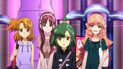 48 family precure before transfrom