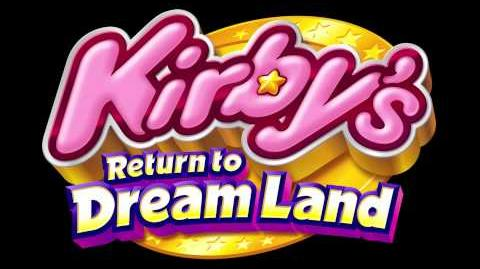 Oasis Area - Kirby's Return to Dream Land