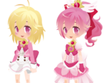 Four Blooms! Pretty Cure!