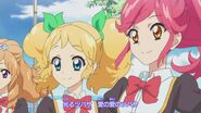Kii and Seira ready to battle