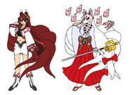 Dita Liebely aka Cure Kuzunoha