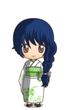 Suzu in a Yukata