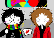 Harry potter fandomstuck by kakity-d5u2u6h