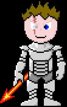 TheNitroFlamer (FandomTale - Armored)