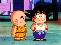 Goku With Krilin As Kids