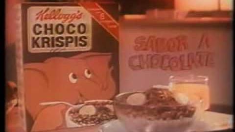 Comercial Choco Krispis 1984 (México)